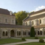 Fontenay abbey near Carpe Diem bed and breakfast
