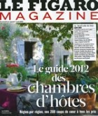 Le Figaro Magazine bed and breakfast burgundy