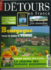 Magazine Detour en France bed and breakfast