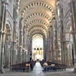 Basilica Vezelay near guest house in burgundy
